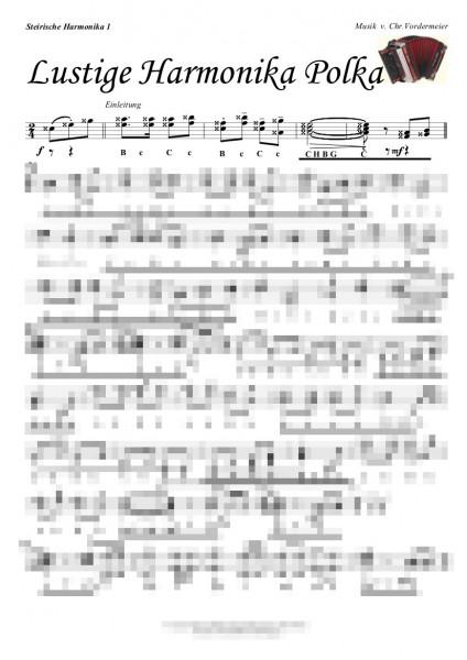 Lustige Harmonika Polka