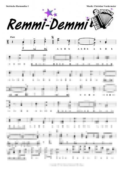 Remmi-Demmi Polka (Akkordeon)